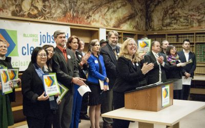 Largest WA unions, environmental, equity and health groups align around a bold 2020 legislative climate agenda